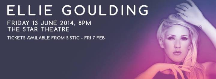 Ellie Goulding LIVE in Singapore!